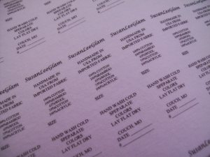 Print Your Own Fabric Labels Easily